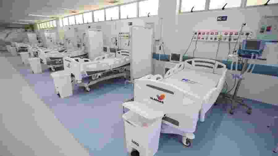 O Hospital Metropolitano, em Maceió, foi inaugurado em maio e destinado somente para casos de covid-19. A partir deste mês destina seus 30 leitos de UTI e 130 clínicos para ser referência estadual em cirurgias nas áreas de ortopedia, neurocirurgia, vascular e cardíaca. - Márcio Ferreira/Divulgação