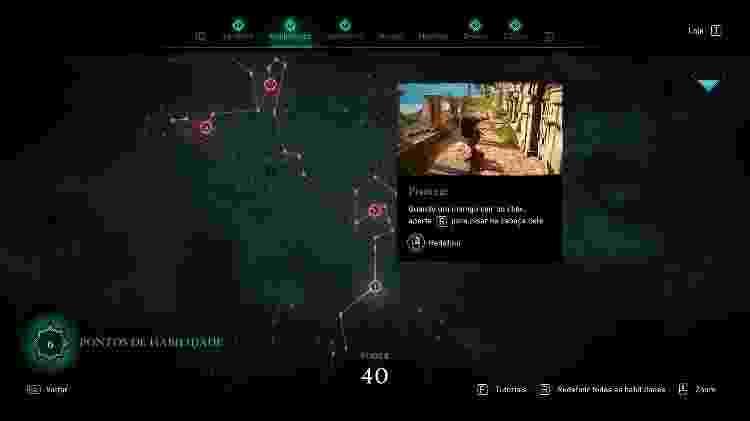 Assassin's Creed Valhalla Habilidades - Daniel Esdras/GameHall - Daniel Esdras/GameHall
