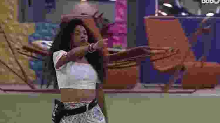 BBB 21: Lumena em briga com Juliette - Reprodução/ Globoplay - Reprodução/ Globoplay