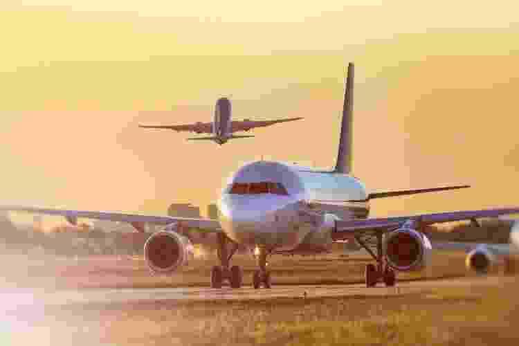 Aviões no Aeroporque, aeroporto central de Buenos Aires: poucas rotas e preços altos para ir à Argentina - Getty Images - Getty Images