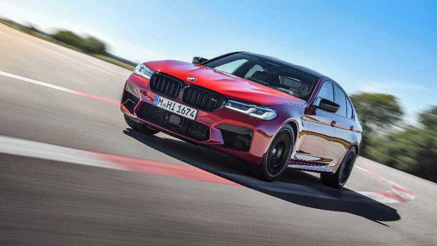 BMW M5 Competition - Divulgação