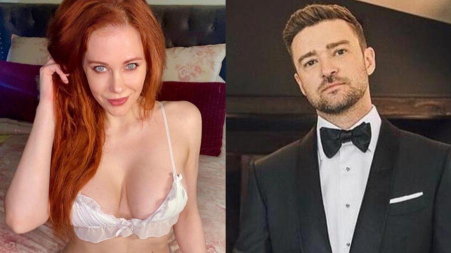 Maitland Ward e Justin Timberlake - Reprodução/Instagram