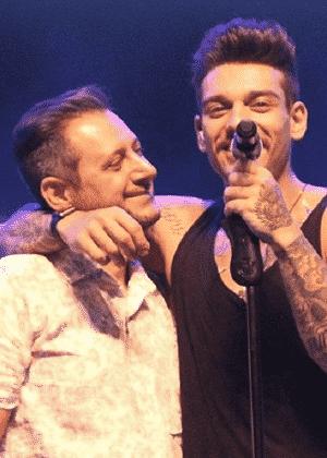 Lucas Lucco abraça o pai, Paulo Roberto - Reprodução/Instagram/paulimlucco