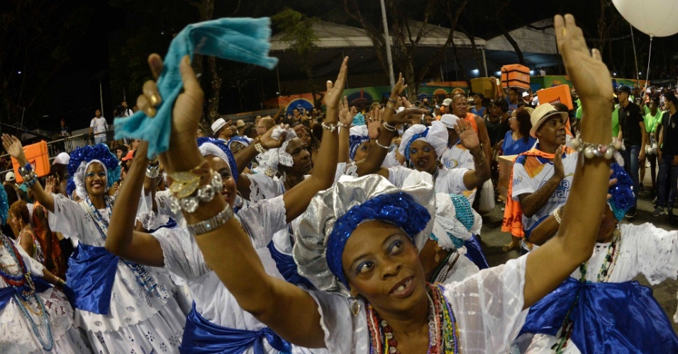 Baianas aproveitam o Carnaval de Salvador