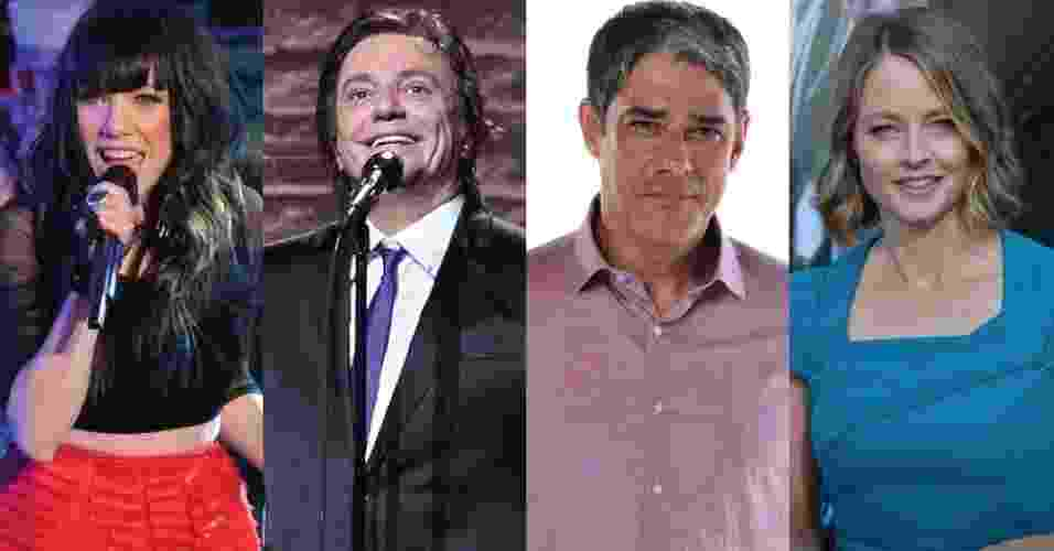 Famosos de Escorpião - Foto Rio News/GettyImages/Divulgação/TV Globo