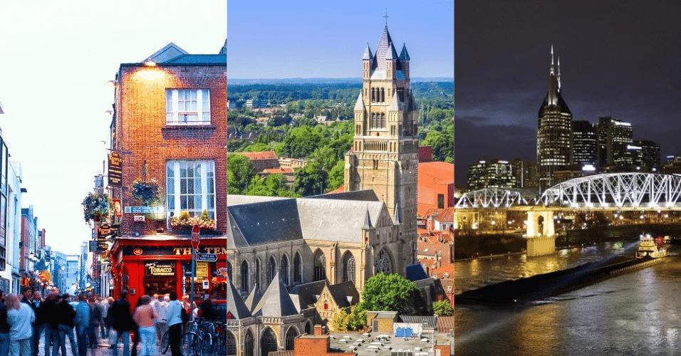 Montagem para cidades mais amigáveis do mundo - Arte/UOL