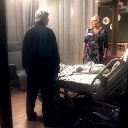 """Fausto (Tarcísio Meira) chama Mág (Vera Holtz) de assassina em """"A Lei do Amor"""" - Reprodução/GShow"""