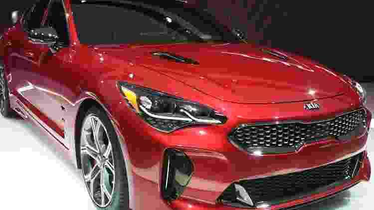 Kia Stinger GT Detroit - Murilo Góes/UOL - Murilo Góes/UOL