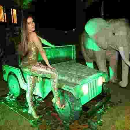 Anitta comemora 24 anos com festa temática em sua mansão no Rio - Reprodução/Instagram - Reprodução/Instagram