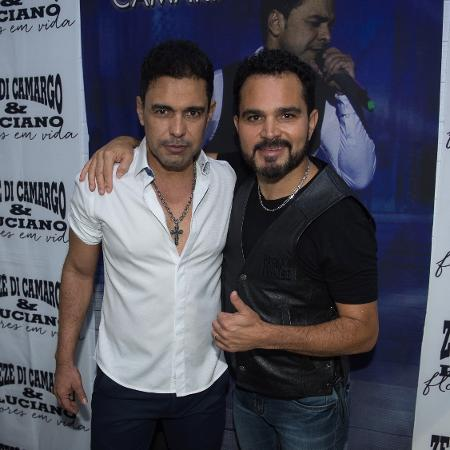 Zezé Di Camargo e Luciano em show em Cuiabá - Francisco Cepeda/AgNews