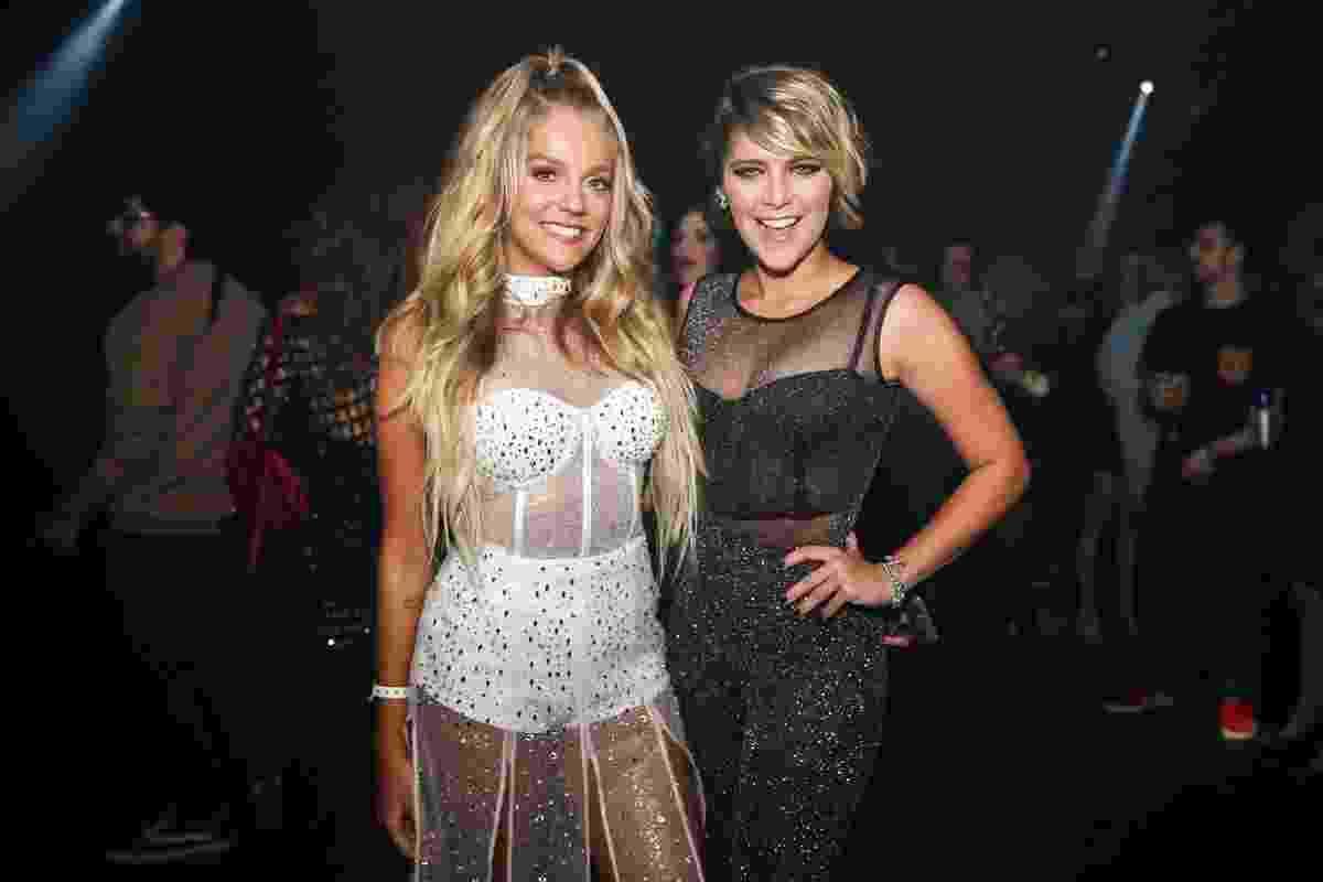 Isabella Santoni e a aniversariante Gabi Lopes, que fez sua festa em uma balada em São Paulo - Manuela Scarpa/Brazil News