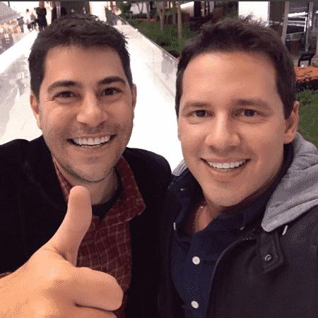 Evaristo Costa e Dony De Nuccio - Reprodução/Instagram/donydenuccio