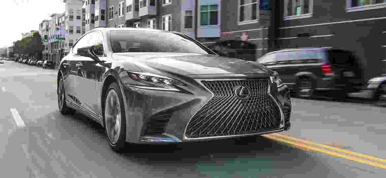 Lexus LS 500h 2018 - Divulgação