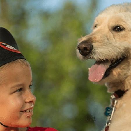 Agora os cachorros podem passear com seus humanos na Disney - Reprodução/Twitter/@Disney