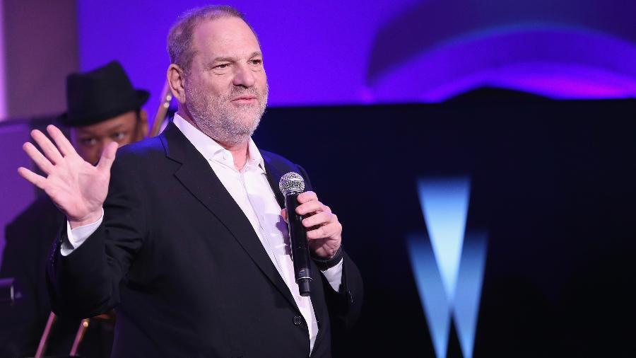 O produtor americano Harvey Weinstein, acusado de assédio por dezenas de mulheres - Getty Images