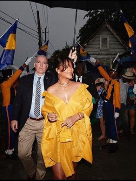 Rihanna recebe homenagem do governo de Barbados - Reprodução/Instagram/badgalriri