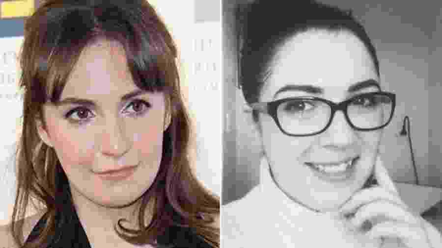 A atriz e escritora Lena Dunham (esq.) e Sofie - Getty Images/Sofie Hartley
