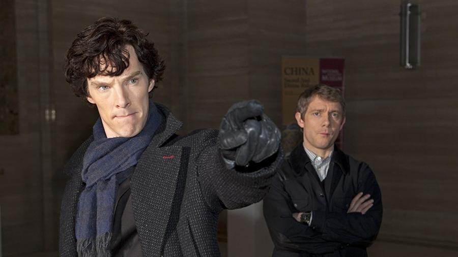 """Cena da série """"Sherlock"""" - Reprodução"""