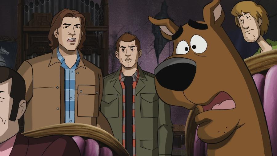 """""""Supernatural"""" e """"Scooby Doo"""" se encontram em crossover - Divulgação"""