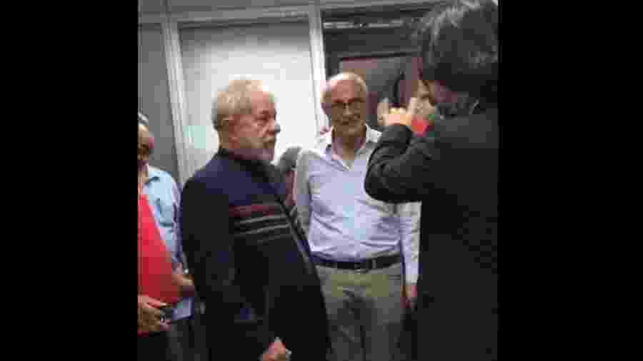Lula no Sindicato dos Metalúrgicos do ABC - Universa