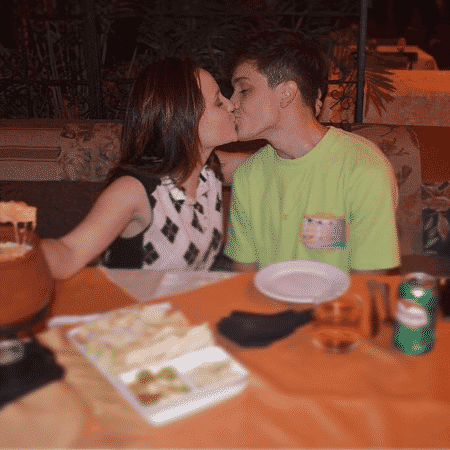 Larissa Manoela e o namorado, Leo Cidade - Reprodução/Instagram