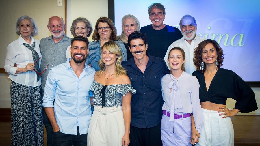 "Elenco de ""Belíssima"" se reencontra para divulgar reprise no ""Vale a Pena Ver de Novo""  - Raquel Cunha/Globo"