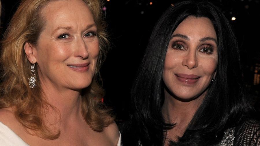 Meryl Streep e Cher - Getty Images