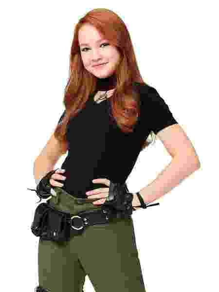 Sadie Stanley como Kim Possible no filme live-action da personagem - Divulgação