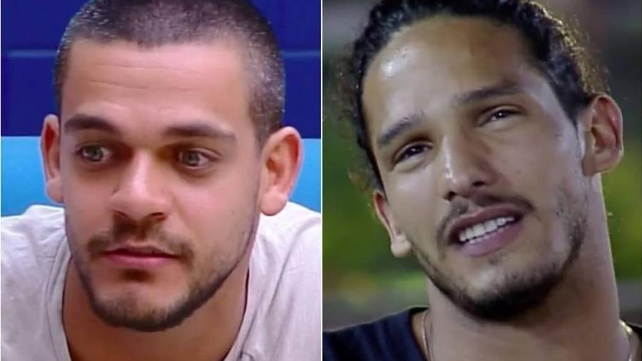 """Caique Aguiar e João Zoli estão na reta final de """"A Fazenda"""" - Reprodução/Record TV"""