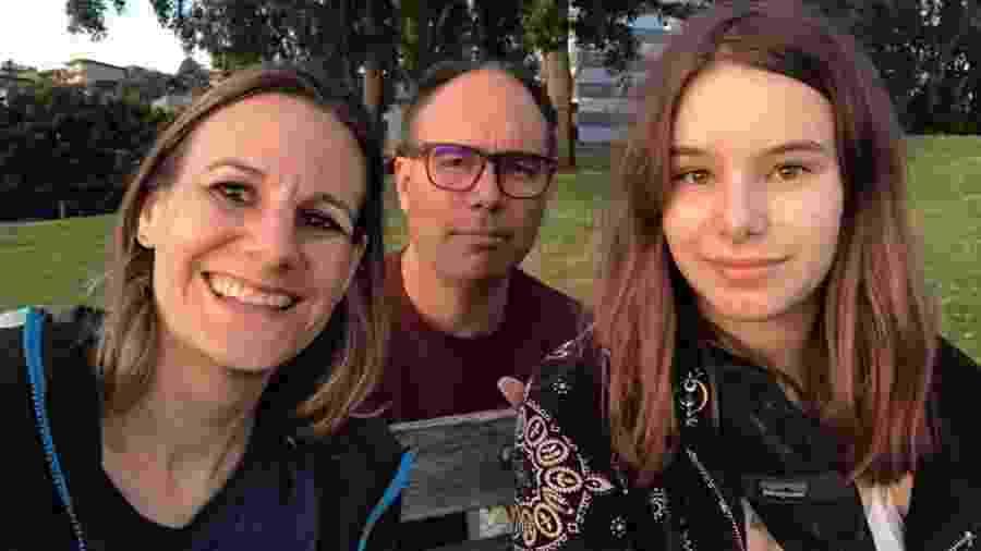 Jessica, Aaron e Alice hoje vivem juntos em Seattle - Arquivo Pessoal/Jessica Share
