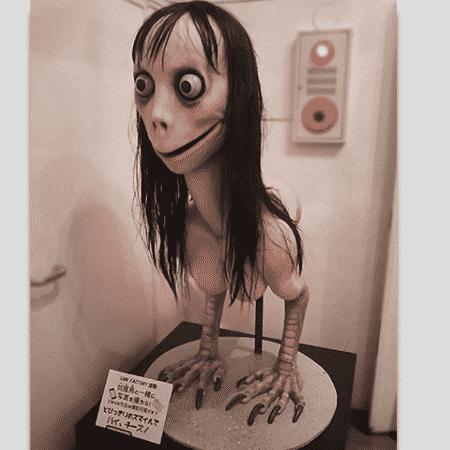 A Momo original - Reprodução - Reprodução