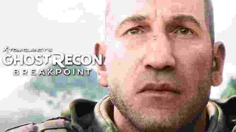 """Revelado recentemente, """"Ghost Recon: Breakpoint"""" é um dos jogos confirmados para o segundo semestre. O ator """"Jon Bernthal"""" (de Justiceiro) será o vilão do game. - Reprodução"""