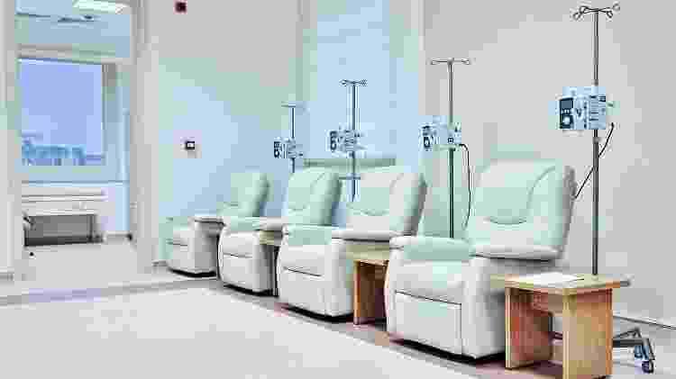 Sala de quimioterapia - iStock - iStock