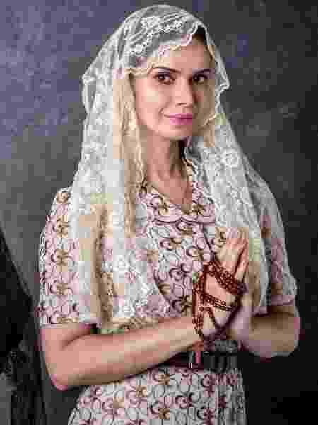 Simone Zucato em O Sétimo Guardião - João Cotta/TV Globo