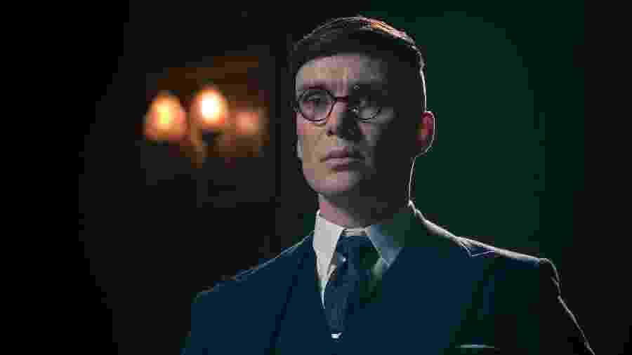 Thomas Shelby, personagem de Peaky Blinders, interpretado por Cillian Murphy - Divulgação