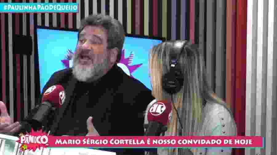 Mario Sérgio Cortella dá entrevista para o programa Pânico - Reprodução/YouTube