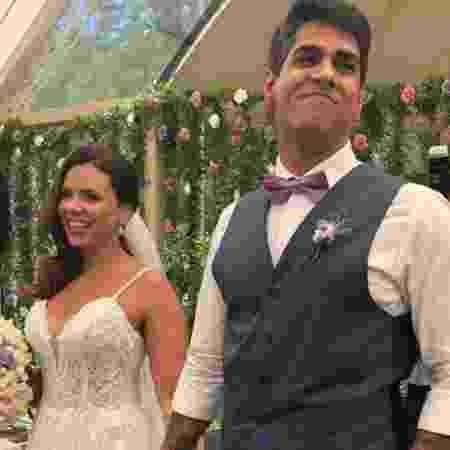 Bruno e a bancária Mayara Netto, grávida de 13 semanas, já escolheram o nome da filha: Donatella - Reprodução/Instagram