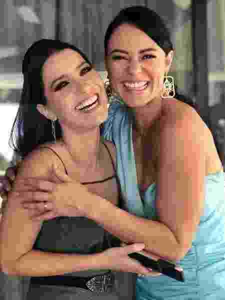 Nathalia Dill e Paolla Oliveira: irmãs em A Dona do Pedaço - Reprodução/ Instagram