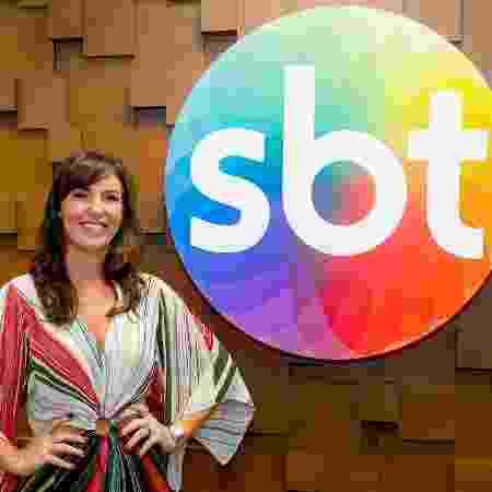 Glenda Kozlowski vai gravar o The Noite  - Gabriel Cardoso Divulgação SBT