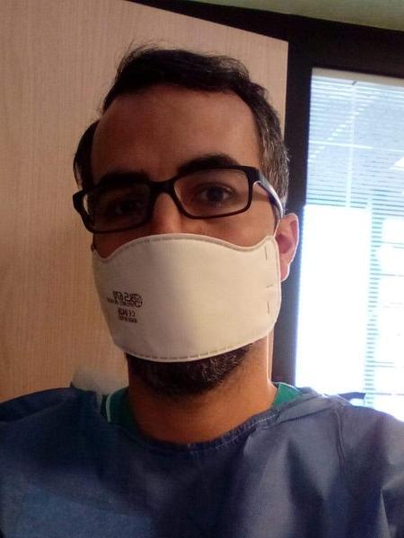 Enfermeiro obstétrico na Itália realizou cinco partos de mulheres infectadas pela Covid-19 - Arquivo pessoal