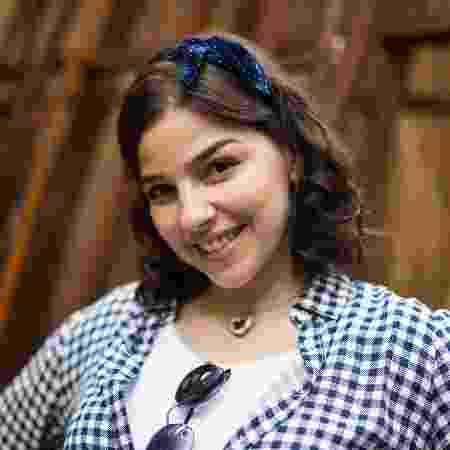 Gabriela Medvedovski interpreta Keyla, que se sente insegura com o próprio corpo - Globo/Marília Cabral