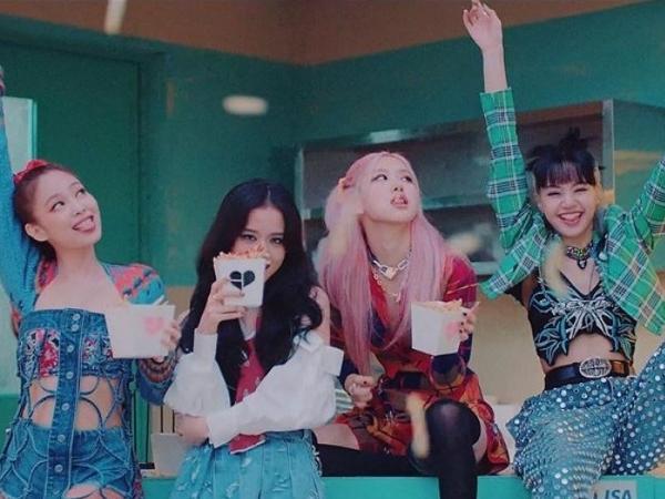 As integrantes do BLACKPINK no clipe de 'Lovesick Girls'