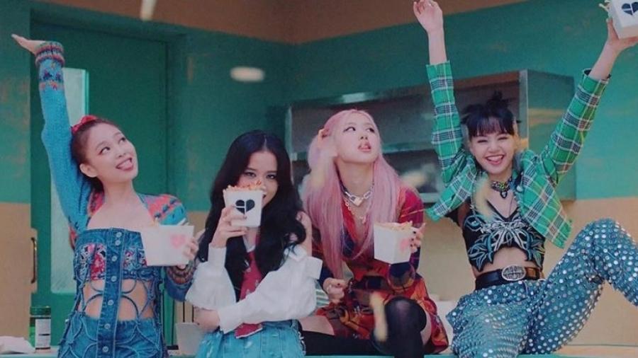 """As integrantes do BLACKPINK no clipe de """"Lovesick Girls"""" - Reprodução/Instagram"""