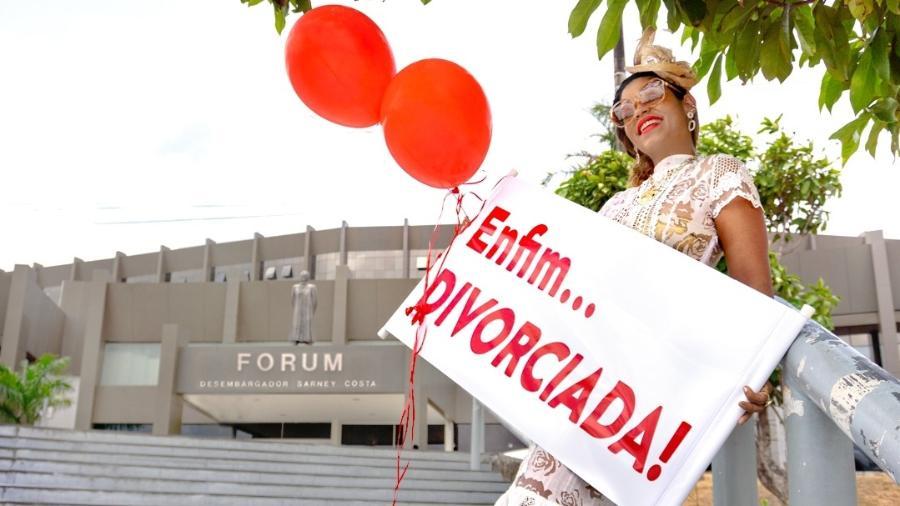 A empresária maranhense Carol Dourado celebrou seu divórcio com uma sessão de fotos - Amanda Borges Fotografia