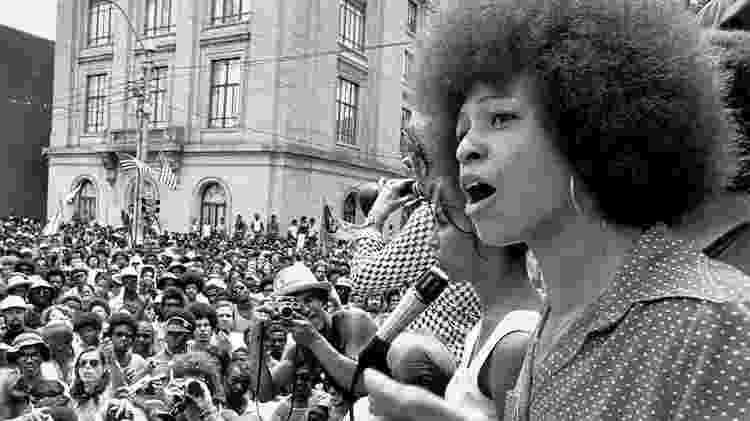A ativista, professora e filósofa Angela Davis - Reprodução - Reprodução