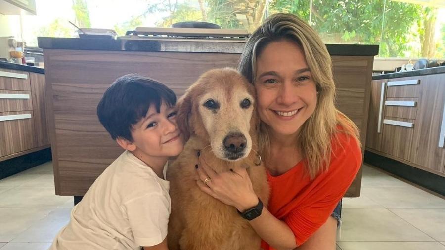 Fernanda Gentil e o filho, Gabriel - Instagram