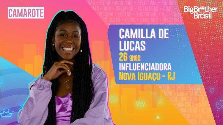 Camilla de Lucas - Divulgação/Globo - Divulgação/Globo