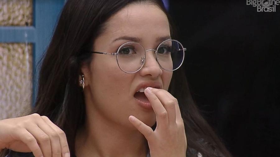 BBB 21: Juliette quebra pedaço do dente - Reprodução/ Globoplay