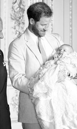 Príncipe Charles, Príncipe Harry e Archie