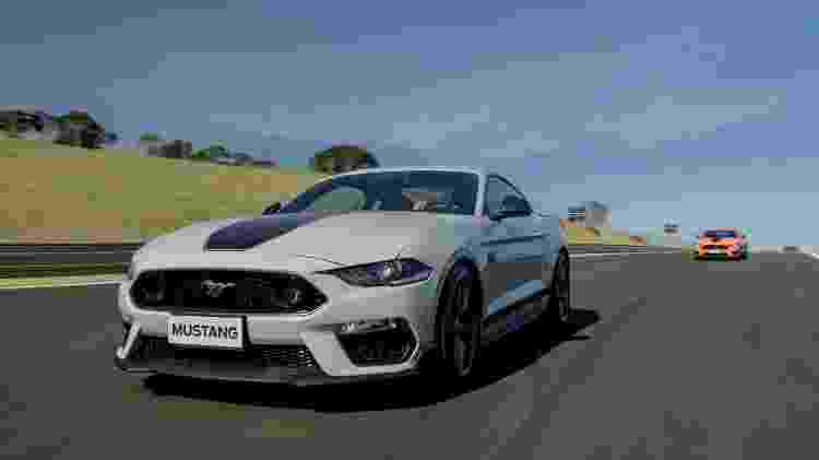 Mustang Mach 1 dianteira - Divulgação/Ford - Divulgação/Ford
